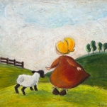 Mary had a little Lamb - SOLD