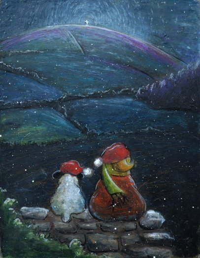 Silent Night - SOLD