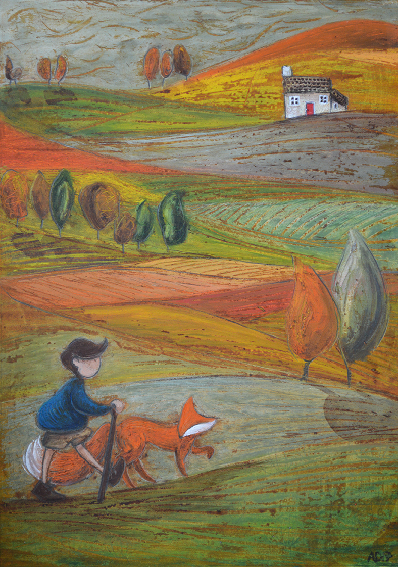 The long way home -SOLD