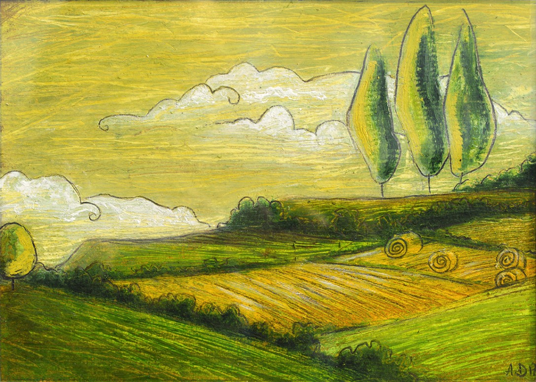 Yellow fields - AVAILABLE